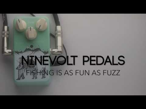 Ninevolt Pedals Fishing Is As Fun As Fuzz Guitar Effects Pedal Demo