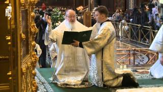 Патриарх Кирилл совершил молитву об Украине