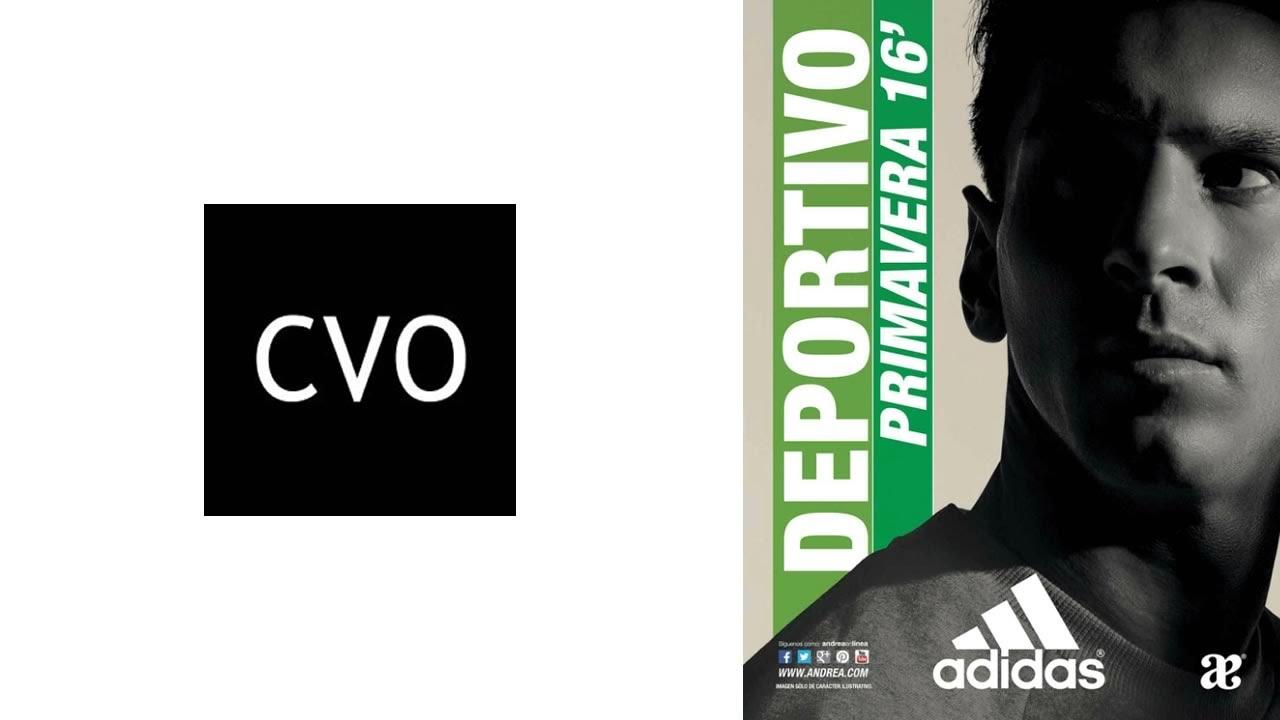 de30267e631d0c Catálogo Andrea: Deportivo Adidas Colección Primavera 2016 - YouTube