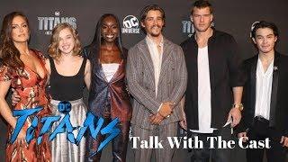 NYCC 2018 TITANS Cast Talk!