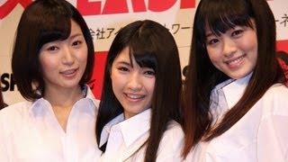 「ミスフラッシュ2013」囲み会見 稲生美紀 動画 9