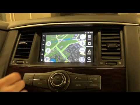 Infiniti, Nissan - доп мультимедиа на штатный монитор