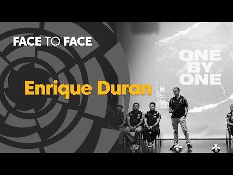 Face to Face: Enrique Duran