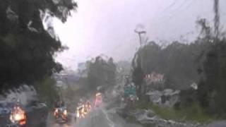 Beckley West Virginia In The Rain.