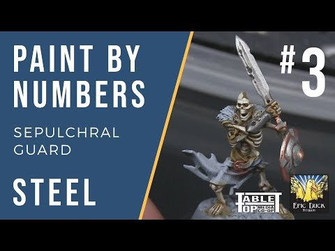 Sepulchral Guard Paint Guide - Steel! Paint by Numbers #3