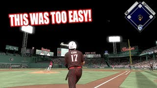 THIS GAME WAS TOO EASY!  - MLB The Show 17 Diamond Dynasty Battle Royale Gameplay