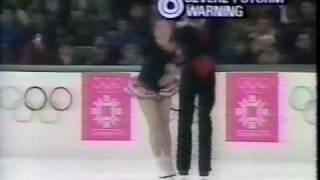 Bestemianova & Bukin (URS) - 1984 Sarajevo, Ice Dancing, Original Set Pattern