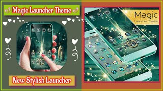 How To Install This Beautiful Launchers for Android | Magic Launcher Theme | New Stylish Launcher screenshot 1