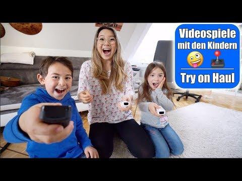 Elisa unzensiert 🙈 Mario Party spielen! Johann & Claras Try on Fashion Haul   Mama VLOG Mamiseelen