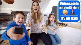 Elisa unzensiert 🙈 Mario Party spielen! Johann & Claras Try on Fashion Haul | Mama VLOG Mamiseelen