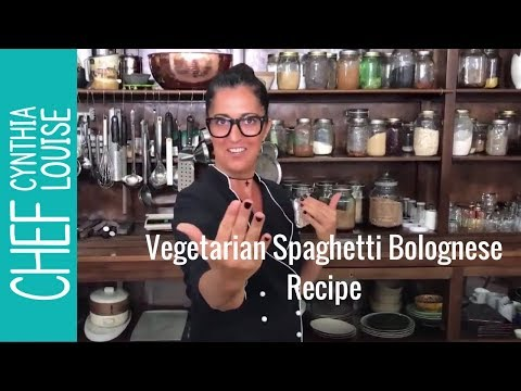 Vegetarian Spaghetti Bolognese, Yes Here is How To Cook Vegetarian Spaghetti Bolognese.