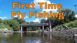 First Time Fly Fishing! (Squaw Creek, Ames, Iowa)