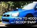 How To Install An STI Hood Scoop