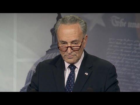 Sen. Chuck Schumer addresses Comey firing