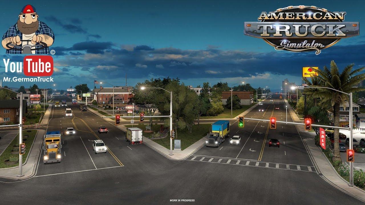 American Truck Simulator – Morgendämmerung über Idaho *News*