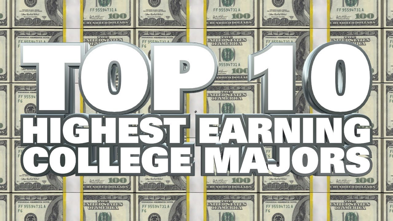 Top 10 Highest Earning College Majors 2014 Youtube