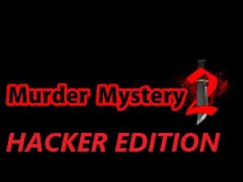 We Found A Hacker In Murder Mystery 2 Roblox Youtube