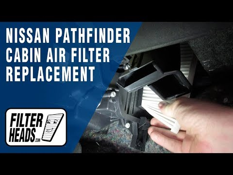 How To Replace Cabin Air Filter 2014 Nissan Pathfinder