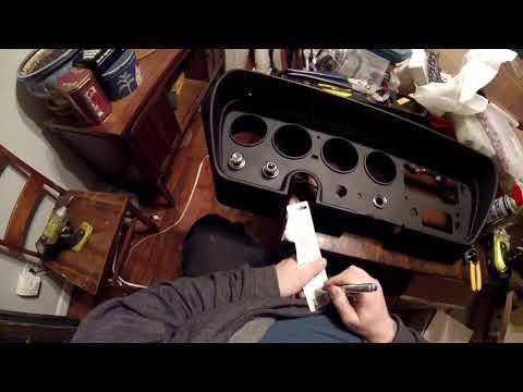 1966 Pontiac Lemans Dash Rehab Pt 2