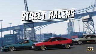 Street Racers \ Стритрейсеры, часть 2  [GTA 5 Online сериал] 4K UltraHD