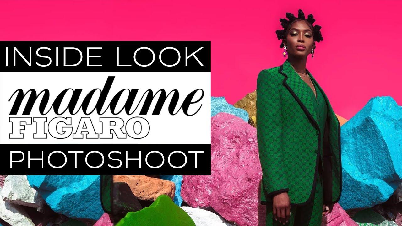 Inside Look of My Madame Figaro Shoot | Being Naomi