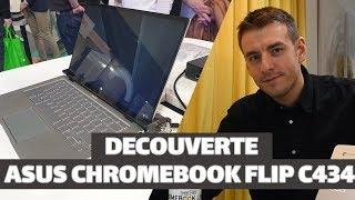 Découverte du ASUS CHROMEBOOK FLIP C434 - TECH LIVE (TechLiveFR)
