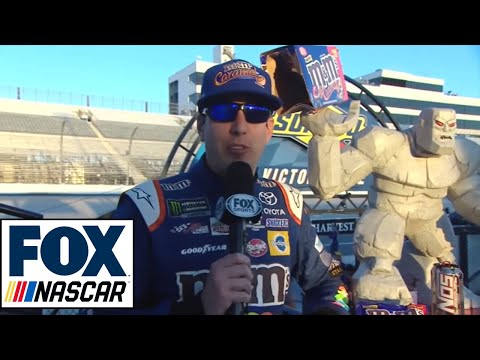 Kyle Busch Post-Race Interview   2017 DOVER   NASCAR VICTORY LANE