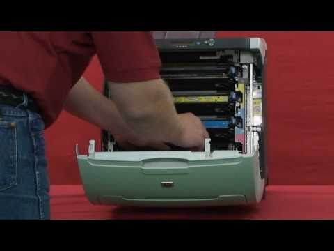 HP Color LaserJet 3600 Maintenance Kit Instructional Video