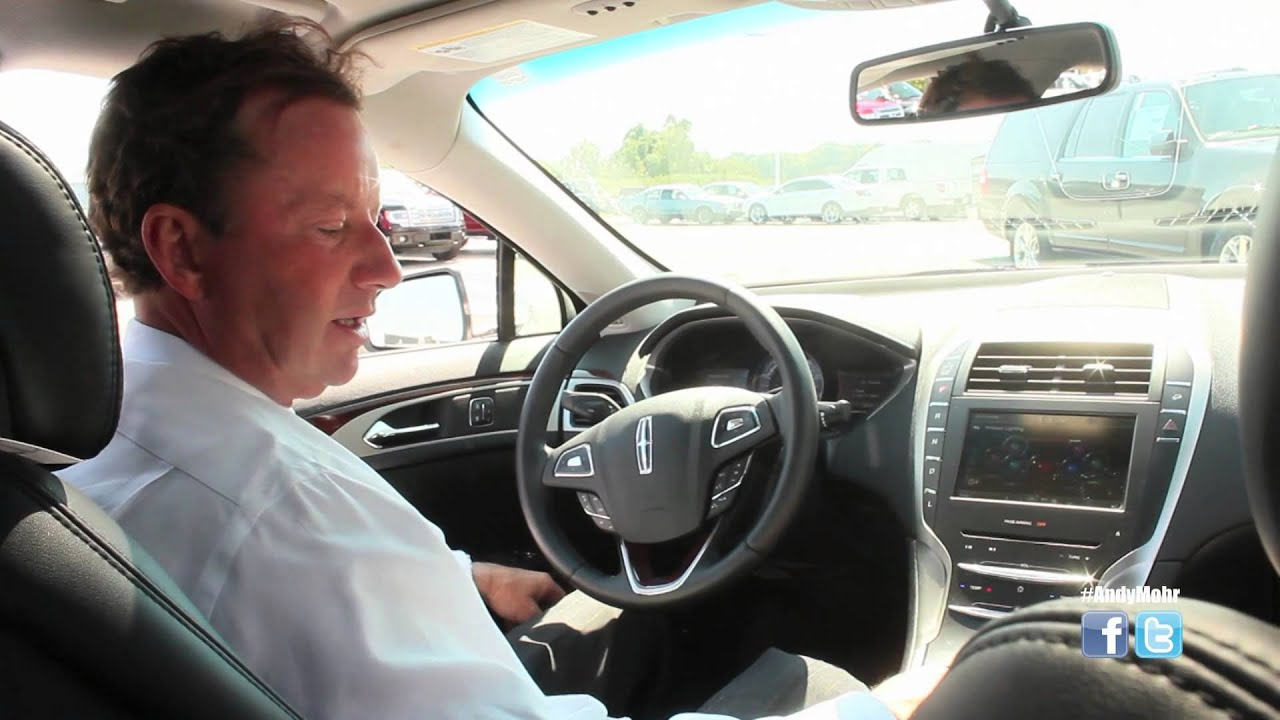 2015 Lincoln MKZ Adjustable Interior Lighting | Andy Mohr Ford Lincoln |  Indianapolis, Indiana   YouTube