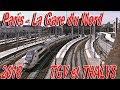 Paris - La gare du Nord - TGV et THALYS - 2018