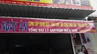 Cửa hàng Saffron, Bánh sữa chua, hạt điều, bánh kẹo Thái Lan,...