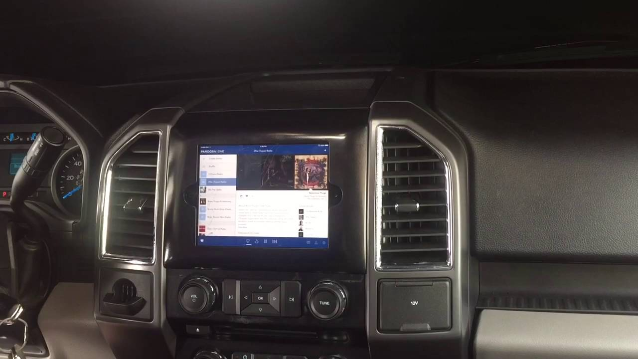 ford f150 ipad mini radio dash kit 2015 and up youtube. Black Bedroom Furniture Sets. Home Design Ideas