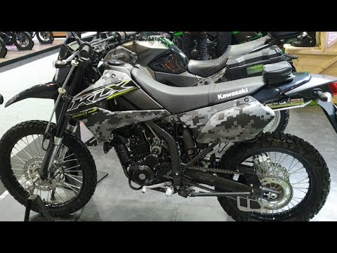 2019 Kawasaki KLX250 - Matrix Camo Gray