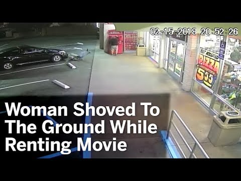 Woman Shoved To The Ground While Renting Movie | San Diego Union-Tribune
