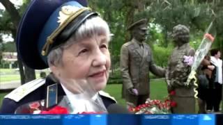 Украина.07.05.2016.В Киеве открыли памятник ветеранам Второй мировой войны.