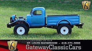 #7034 1967 Dodge Power Wagon - Gateway Classic Cars of St. Louis