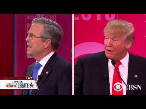 Q26 - Bush Trump - common ground in today's GOP, Trump bankrupt 4X, FL debt