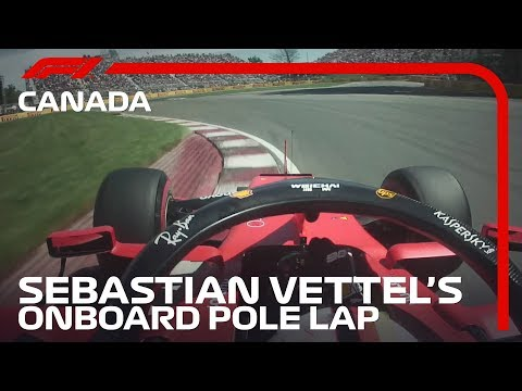 Sebastian Vettel Powers to Pole in Montreal! | 2019 Canadian Grand Prix | Pirelli