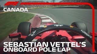 Sebastian Vettel Powers to Pole in Montreal! | 2019 Canadian Grand Prix | Pirelli