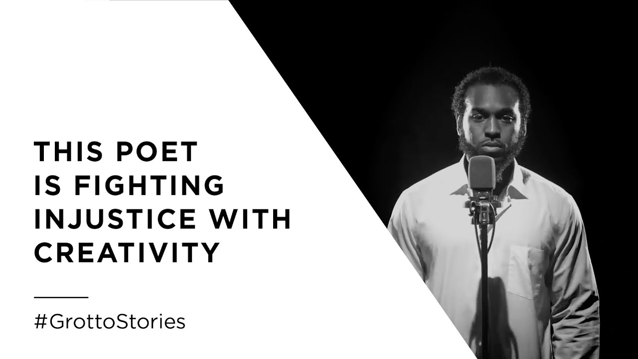 This Poet is Fighting Injustice with Creativity