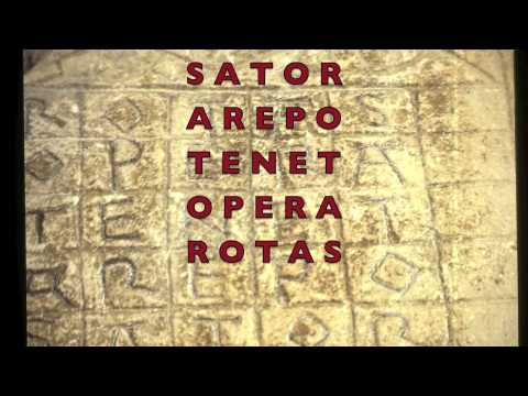 SATOR.... is a prayer coded