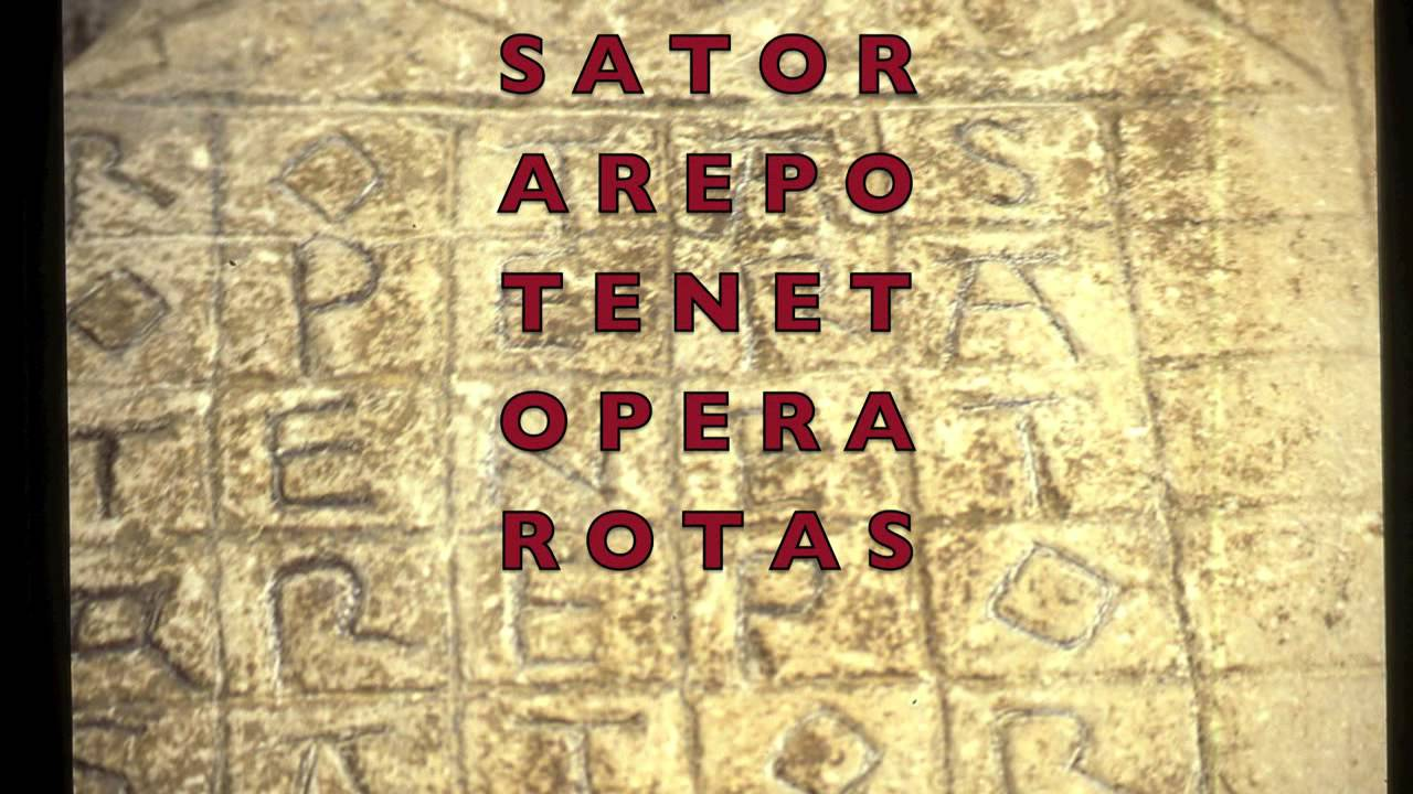 SATOR.... is a prayer coded - YouTube