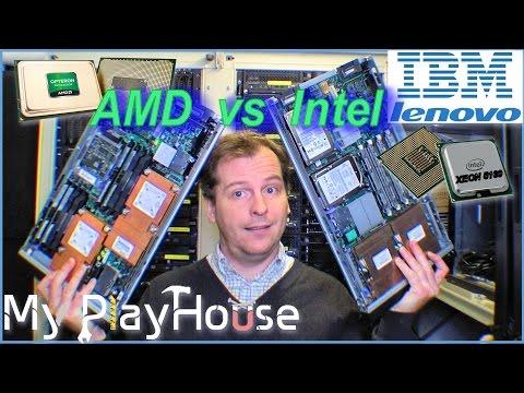 AMD vs Intel - Opteron vs Xeon Bladeservers - 258
