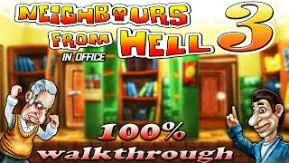 Neighbours From Hell 3 - ALL Episodes [100% walkthrough]