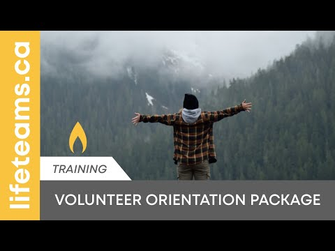 TRAINING: Volunteer Training