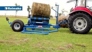 ROLMAKO - Owijarka samozaładowcza, Self-loading bale wrapping machine, Самопогрузочный обмотчик