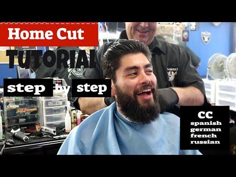 Home Cut Tutorial  /Help From A  Barber / Regular Haircut - Basic Men's Haircut At Home| Diy