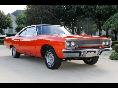 1970 Road Runner Numbers Matching Survivor For Sale