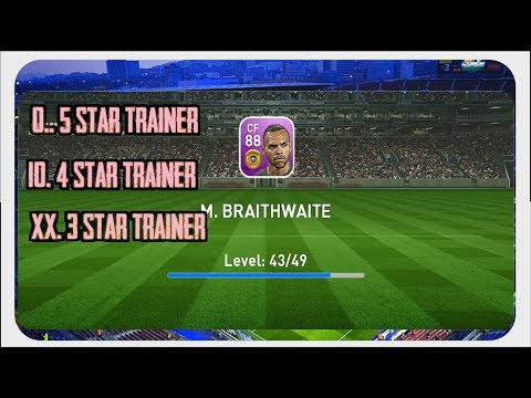 Training Featured M. Braithwaite With A Duplicate