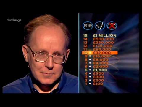 Series 15 Who Wants to be a Millionaire 27th March 2004
